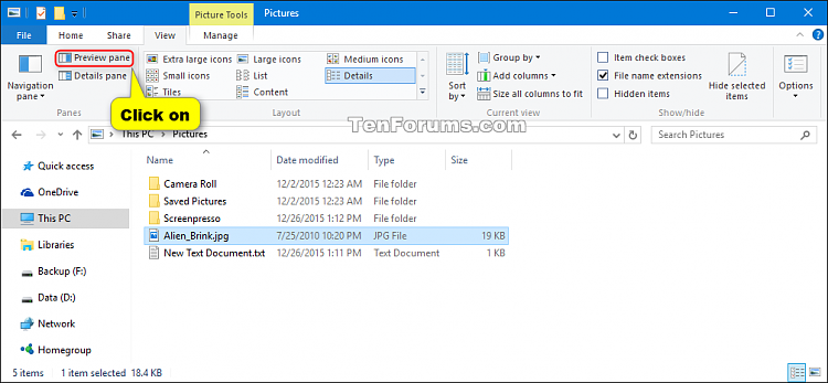 Show or Hide Preview Pane in File Explorer in Windows 10-show-hide_preview_pane-ribbon.png