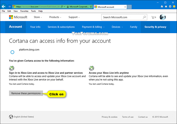 Click image for larger version  Name Cortana remove connected accounts