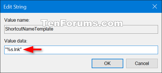 Change Shortcut Name Extension Template in Windows-change_shortcut_name_template-2.png