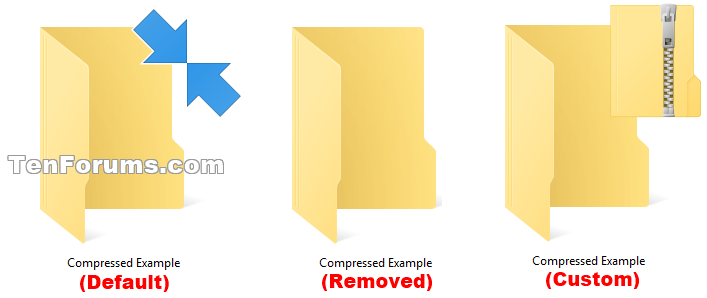 Change or Remove Compression Blue Arrows on Icons in Windows 10-compressed_double_blue_arrows_examples.png