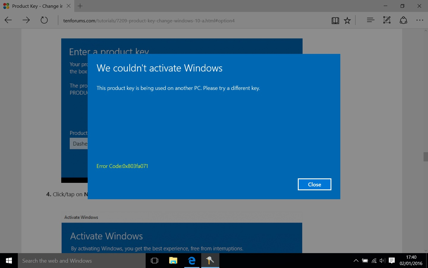 how to get my product key windows 10