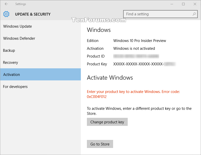 Windows 10 license key vs authorization code | [Windows 10