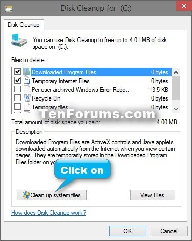 how to delete windows.old on win 10