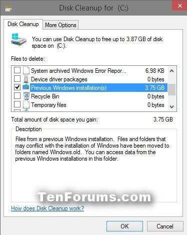 Delete Windows.old Folder in Windows 10-3-disk_cleanup_windows.old.jpg