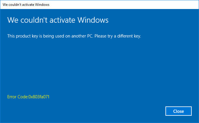 can i use windows 10 product key on multiple computers