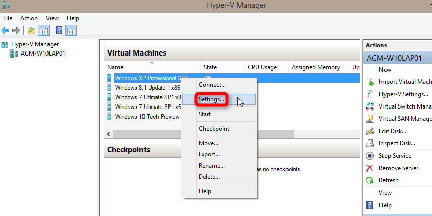 Hyper-V virtualization - Setup and Use in Windows 10 | Tutorials