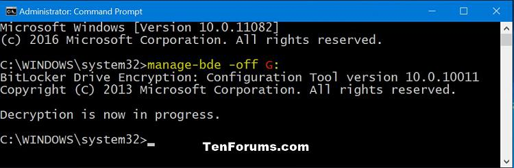 Click image for larger version.  Name:Turn_Off_Bitlocker_command.jpg Views:401 Size:75.6 KB ID:58520