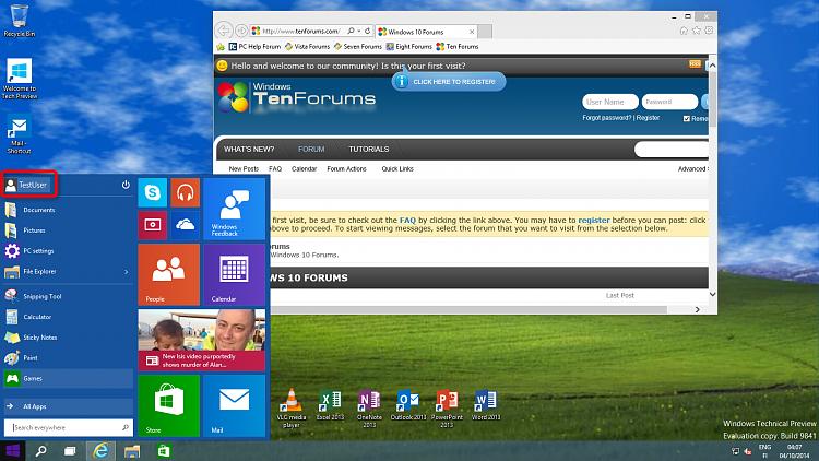 Click image for larger version.  Name:TestUser login everything OK.png Views:826 Size:1.13 MB ID:5862