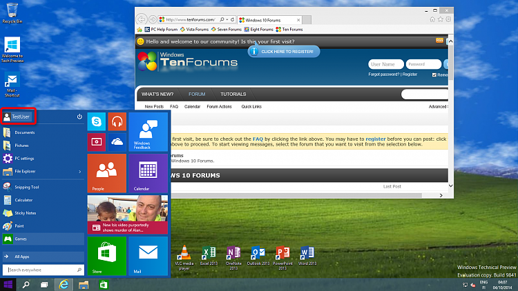 Click image for larger version.  Name:TestUser login everything OK.png Views:1518 Size:1.13 MB ID:5862