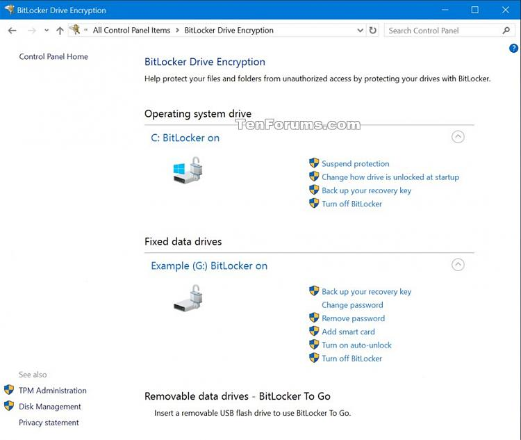 BitLocker software