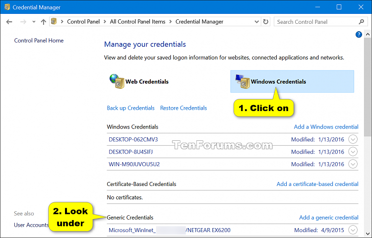 Fix Click here to enter your most recent credential in Windows 10-windows_credentials-1.png