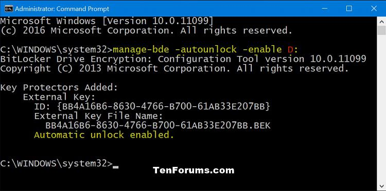 Click image for larger version.  Name:Bit_Locker_auto-unlock_command-ON.jpg Views:192 Size:107.3 KB ID:59170