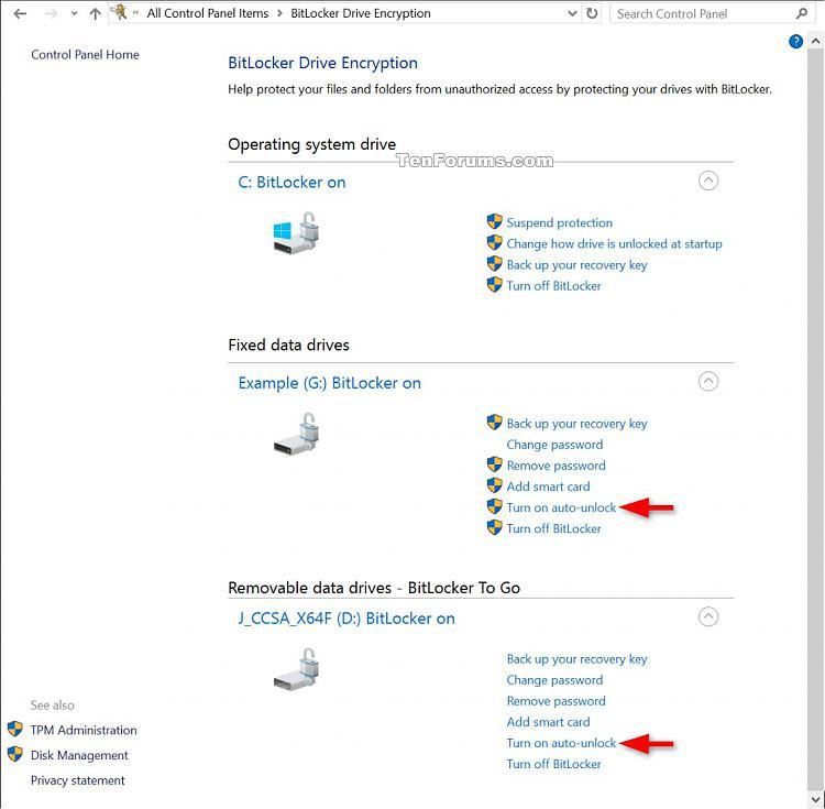 Click image for larger version.  Name:Bit_Locker_auto-unlock_Settings-ON.jpg Views:2558 Size:158.5 KB ID:59174