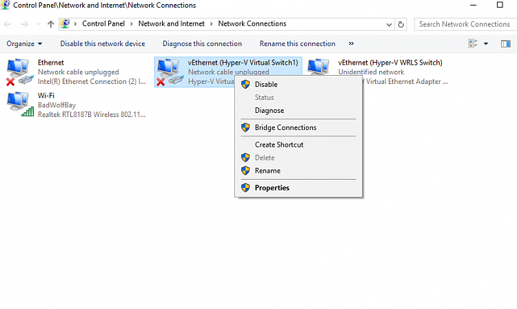 Hyper-V virtualization - Setup and Use in Windows 10-del-netwrk-conns.png