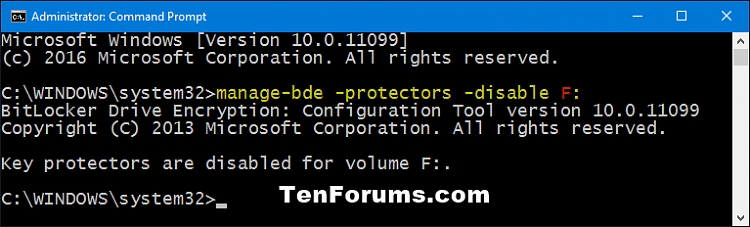 Click image for larger version.  Name:Suspend_BitLocker_protection_command.png Views:417 Size:17.8 KB ID:60499