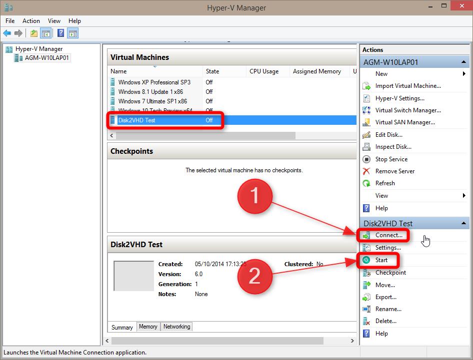 how to create a windows 10 virtual machine