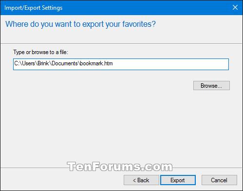 Import or Export Internet Explorer Favorites with HTM in Windows 10-internet_explorer_export_htm-5a.png