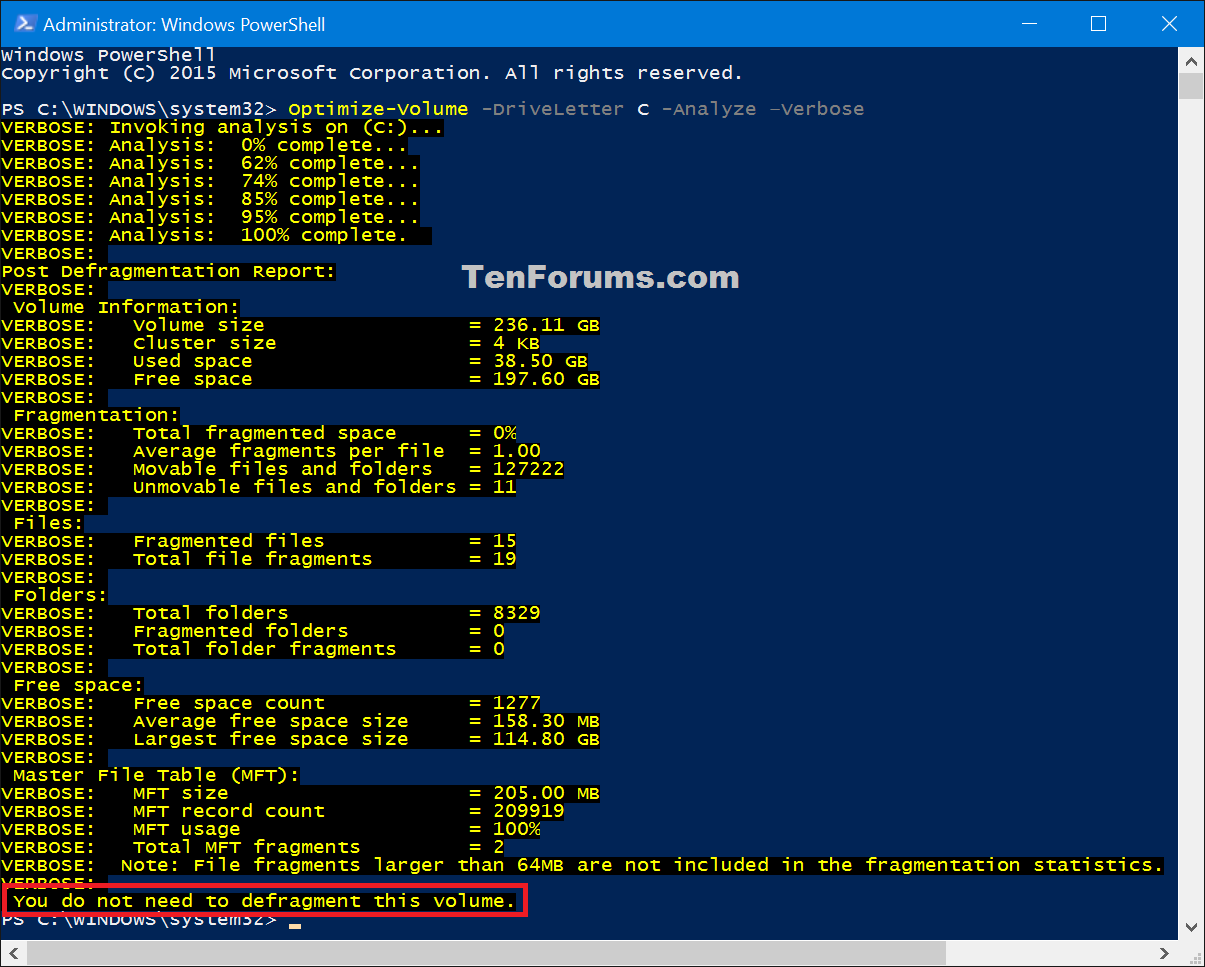 Optimize and Defrag Drives in Windows 10 | Tutorials