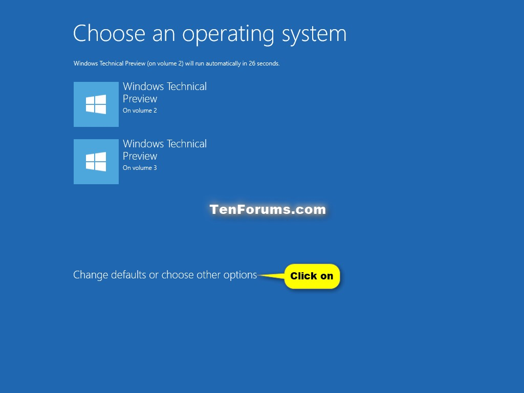 Boot to Advanced Startup Options in Windows 10 | Tutorials