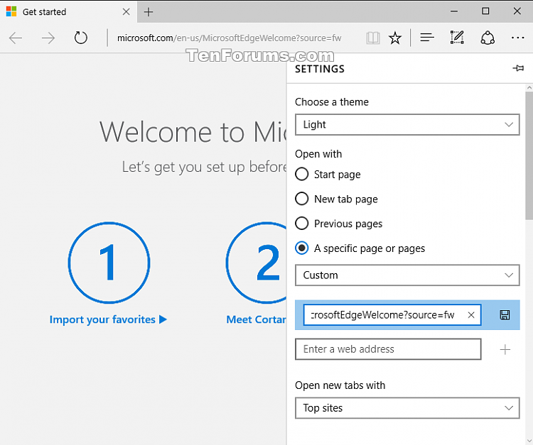 Click image for larger version.  Name:Microsoft_Edge_Welcome_page_settings.png Views:969 Size:35.0 KB ID:63632