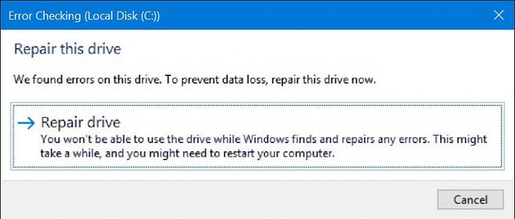 how to fix windows 10 boot using external hard drive
