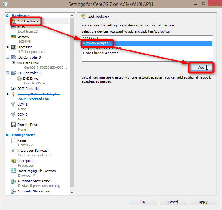 how to get to adapter settings windows 10