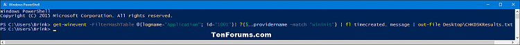 Read Chkdsk Log in Event Viewer in Windows 10-chkdsk_results_powershell-1.png