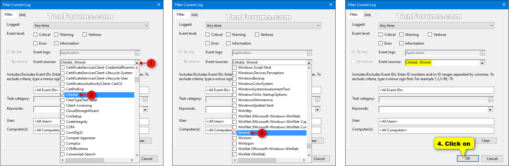 how to delete events in event viewer