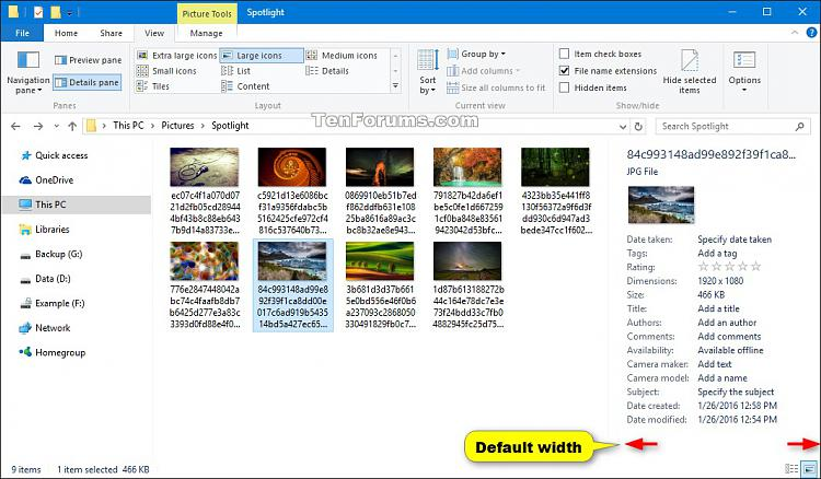 Click image for larger version.  Name:Details_pane_default_width.jpg Views:400 Size:212.9 KB ID:65639