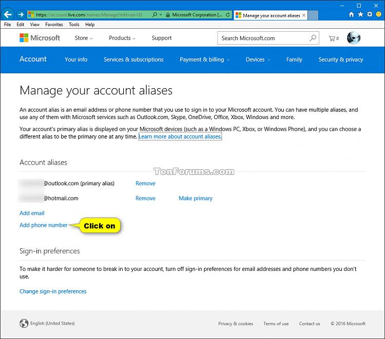Add or Remove Microsoft Account Aliases-add_microsoft_account_phone_alias-1.png