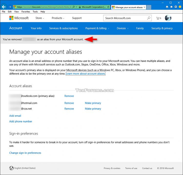 Add or Remove Microsoft Account Aliases-remove_microsoft_account_alias-3.png