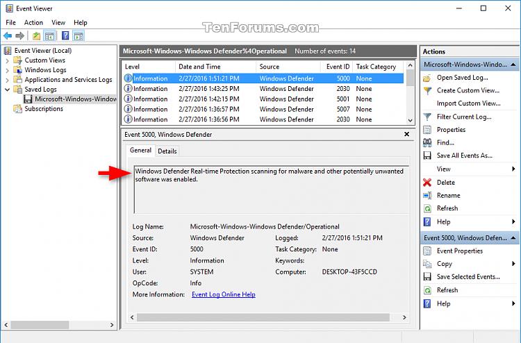 Click image for larger version.  Name:Windows_Defender_Offline_event_logs.png Views:183 Size:66.1 KB ID:66718