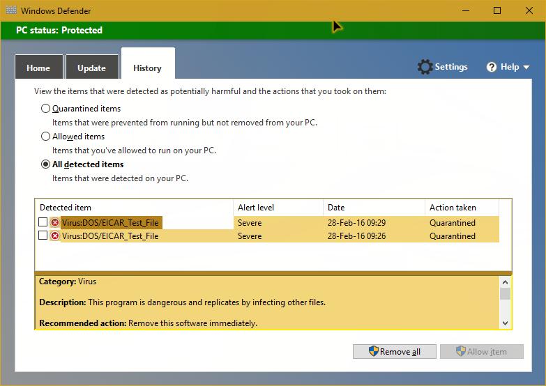 windows defender offline wont boot