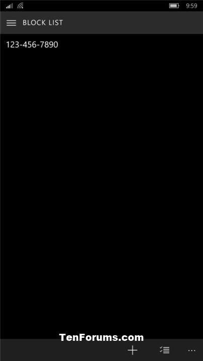 Phone Number - Block or Unblock on Windows 10 Mobile Phone-block_new_number-2.jpg