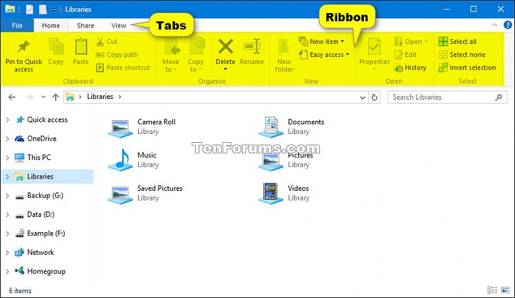 Click image for larger version.  Name:File_Explorer_Ribbon.png Views:1461 Size:54.5 KB ID:67723