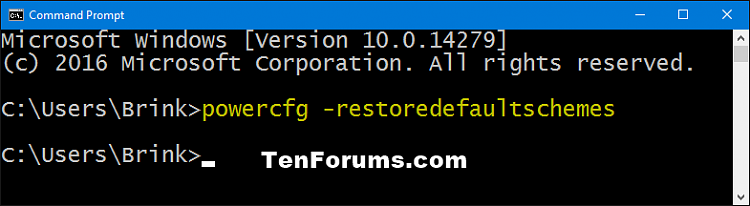 Click image for larger version.  Name:powercfg-restoredefaultschemes.png Views:695 Size:13.0 KB ID:68895