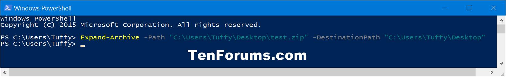 Unzip Files from Zipped Folder in Windows 10 | Tutorials