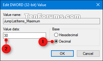 Change Maximum Number of Items in Jump Lists in Windows 10-jumplists_maximum_items-2.png