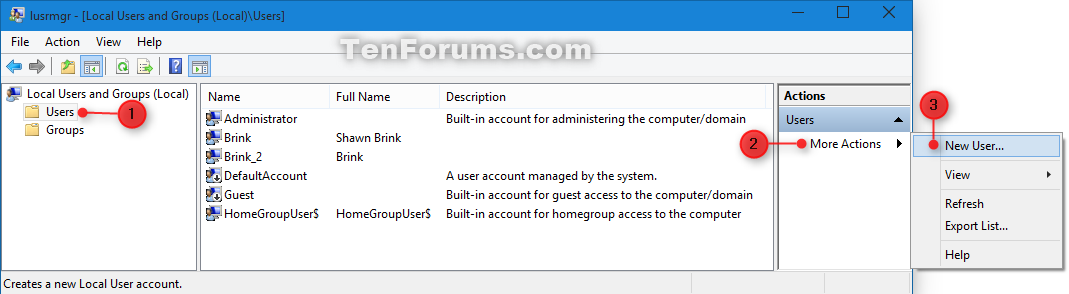 how to make a guest account windows 10