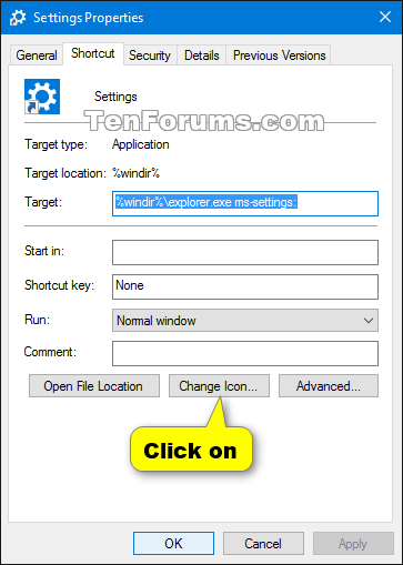 how to create this pc shortcut in windows 10