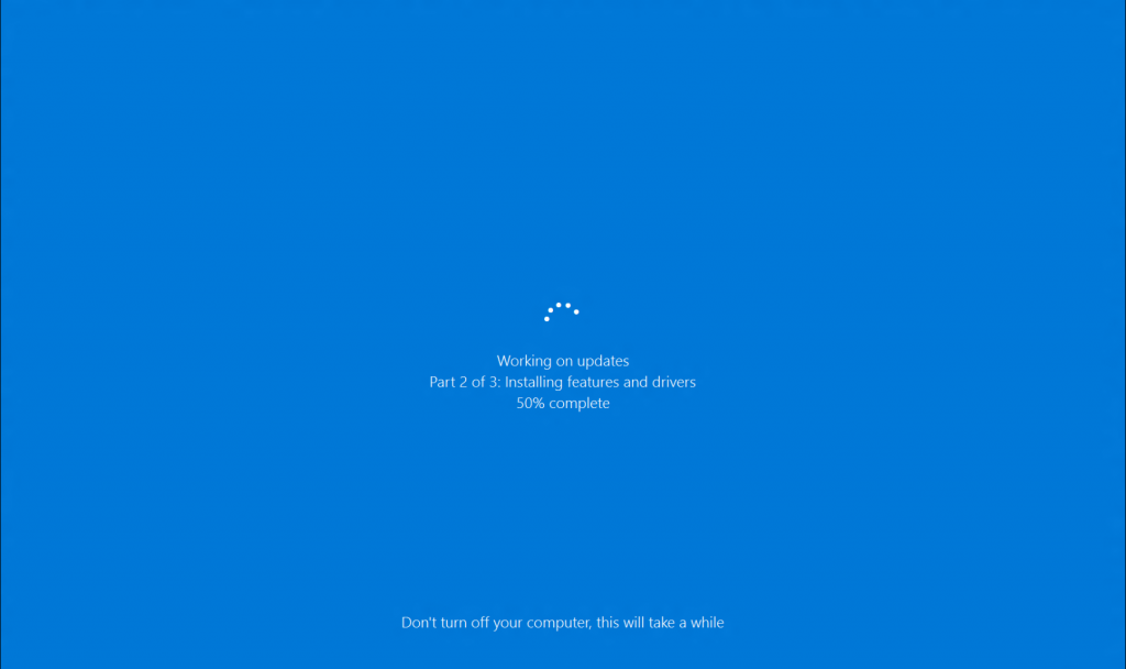 check for and install windows update in windows 10 windows