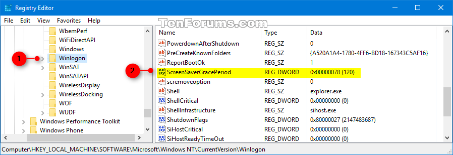 Change Screen Saver Password Grace Period in Windows | Tutorials