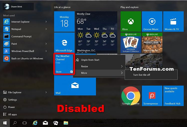 Click image for larger version.  Name:Store_pinned_to_taskbar_disabled.jpg Views:62 Size:237.1 KB ID:75536