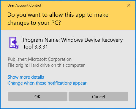 change user account control uac settings in windows 10