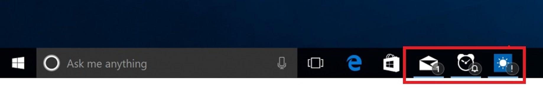Taskbar Buttons - Hide or Show Badges in Windows 10 | Tutorials