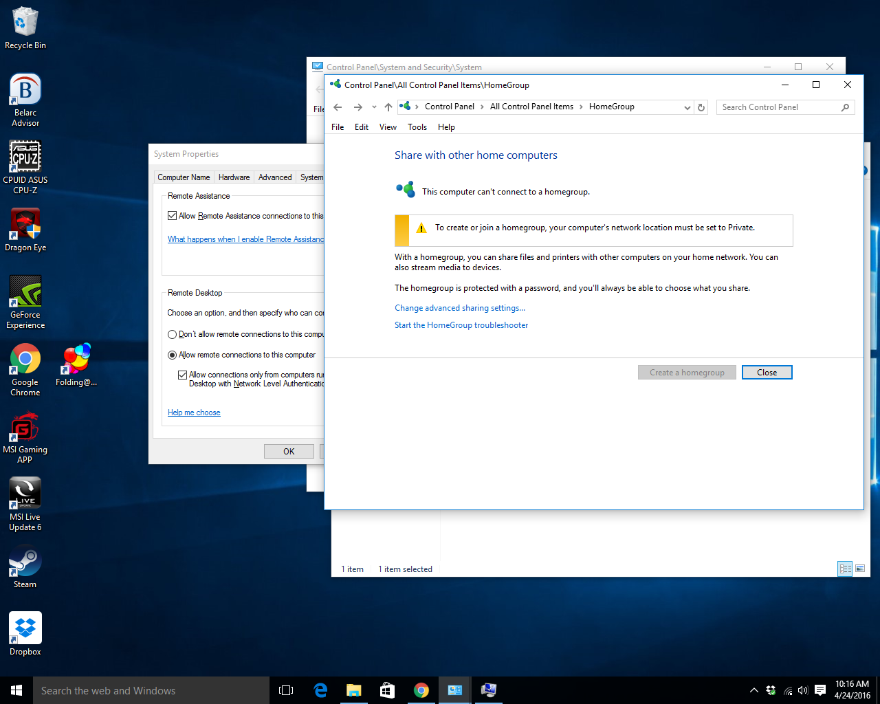 how to connect a pc to a network windows 10