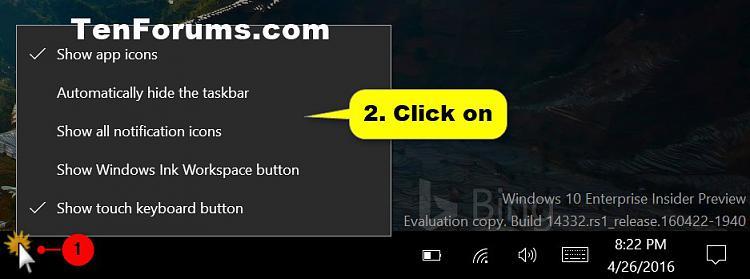 How to Hide or Show Touch Keyboard Button on Taskbar in Windows 10-tablet_mode_taskbar.jpg