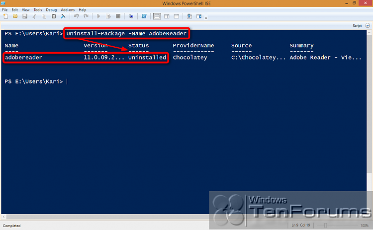 PowerShell PackageManagement (OneGet) - Install Apps from Command Line-2014-10-31_02h38_37.png