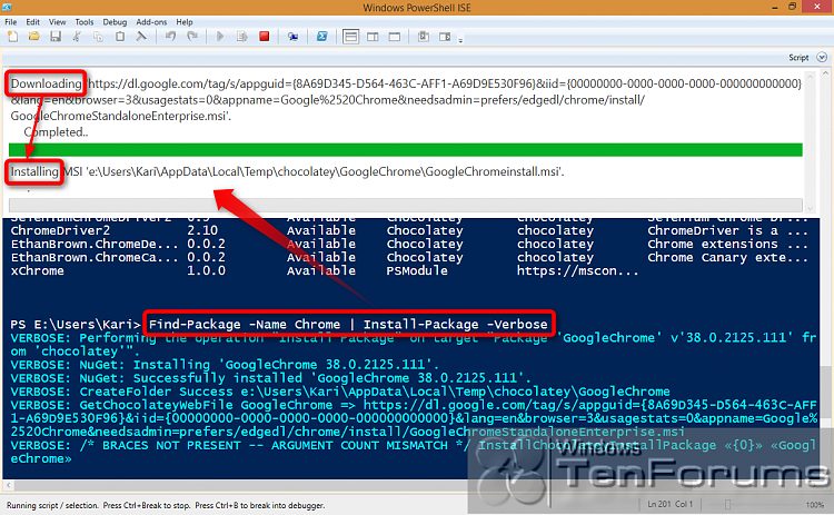 PowerShell PackageManagement (OneGet) - Install Apps from Command Line-2014-10-31_02h59_34.png