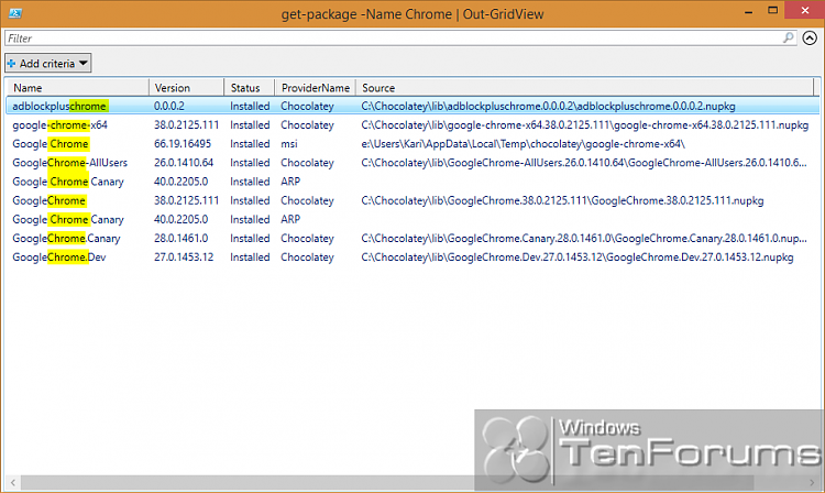 PowerShell PackageManagement (OneGet) - Install Apps from Command Line-2014-10-31_03h07_56.png